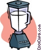 electric blender Vector Clipart illustration