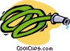 Vector Clip Art picture  of a garden hose