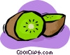 kiwi Vector Clipart illustration