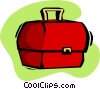 Vector Clipart picture  of a lunch box