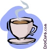 cup of coffee Vector Clipart illustration