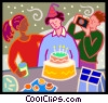 Birthday party Vector Clip Art picture