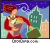 businesswoman Vector Clipart picture