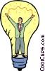 light bulbs Vector Clipart image
