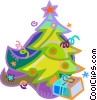 Christmas tree Vector Clip Art picture