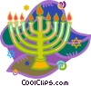candelabra Vector Clipart illustration