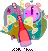 New Year's eve Vector Clip Art picture