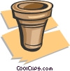 pottery Vector Clipart picture