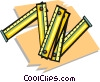 Vector Clipart picture  of a rulers