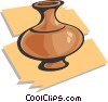 pottery/vase Vector Clipart illustration