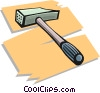 mallet Vector Clipart illustration
