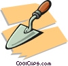 Vector Clip Art graphic  of a trowel
