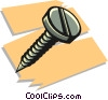 screw Vector Clipart graphic