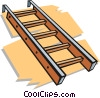 Vector Clipart picture  of a ladder