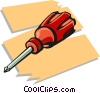 screw driver Vector Clipart picture