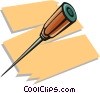Vector Clipart graphic  of a ice pick
