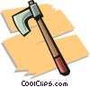 Vector Clip Art graphic  of a hatchet