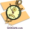 stop watch Vector Clipart graphic