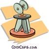 grinding wheels Vector Clipart picture
