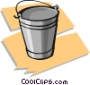 Vector Clipart image  of a pail