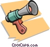 Vector Clip Art picture  of a megaphone