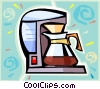 Vector Clipart graphic  of a coffee maker