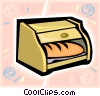 bread basket Vector Clip Art picture