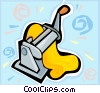 Vector Clipart illustration  of a pasta maker