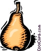 Vector Clip Art graphic  of a pear