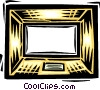 picture frame Vector Clipart picture
