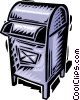 mail box Vector Clip Art picture