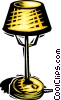 Vector Clipart graphic  of a lamp
