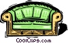 couch Vector Clip Art picture