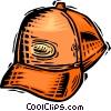 baseball cap Vector Clip Art image