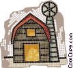 barn Vector Clipart illustration