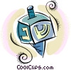Vector Clipart illustration  of a Torah or Scrolls