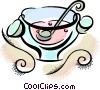 punch bowl Vector Clipart illustration