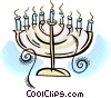 candelabra Vector Clipart graphic