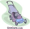 lawnmower Vector Clip Art image