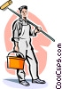 painter Vector Clipart picture