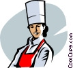 Vector Clipart illustration  of a chef
