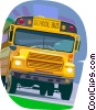 School bus Vector Clipart image