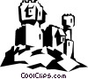 castle Vector Clipart picture