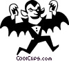 Count Dracula Vector Clipart illustration
