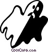 Vector Clipart illustration  of a ghosts