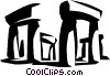 Vector Clipart picture  of a Stonehenge