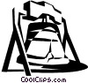 Vector Clipart picture  of a Liberty Bell