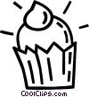 cupcake Vector Clipart picture