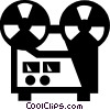 tape recorder Vector Clipart illustration