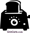 toaster Vector Clip Art graphic